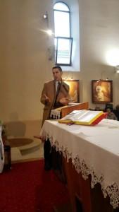 Pozdrav nadbiskupa, pohod nadbiskupa župi Zamet, 31.01.2016