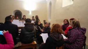 Probe velikog zbora i zbora mladih, pohod nadbiskupa župi Zamet, 31.01.2016