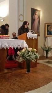 Pozdrav, pohod nadbiskupa župi Zamet, 31.01.2016