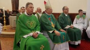 Sv. misa, pohod nadbiskupa župi Zamet, 31.01.2016