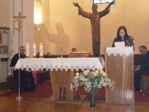 Predstavljanje župe nadbiskupu - Anamaria Ožanić