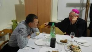 Agape , pohod nadbiskupa župi Zamet, 31.01.2016